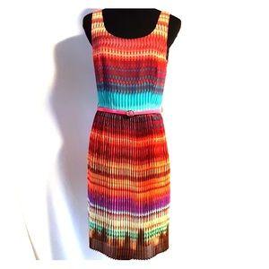 Antonio Melani dress, size 4, colorful